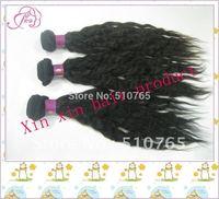 Peruvian virgin Hair human hair weaves natural wave 12-28inch , color 1b# ,1pcs/3.5oz, 300g/lot , DHL free shipping