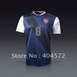 TOP quality Dempsey 8# USA Away Jersey 12/13 free ship