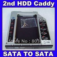 12.7MM 2nd SATA HDD Hard Disk Drive Caddy Adapter for HP ProBook 6360b 6460b 6465b 6560b