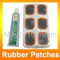 Free Shipping Bicycle Bike Tire Tube 48 Rubber Patches Repair Kit Bicycle Cold glue 5pcs/lot 190009