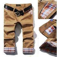Free Shipping Mens slim Leisure long Pants,Men Casual Pants,slim  men,3color,Size:28-36,100%guarantee ,drop shipping WP10