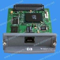 Used- HP JetDirect 620n internal print server - 10BaseT and 100BaseTX LAN interface board - Plugs into peripheral EIO slot