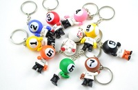 lucky doll key rings, gifts, premiums,christmas ornaments,promotional key chains,