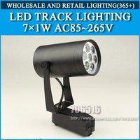 LED Track Lighting 7W Cold white / Warm White AC85-265V Free Shipping / DHL