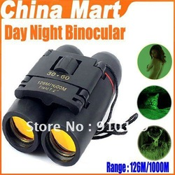 Sakura Binocular Day Night Binocular Telescope Folding 30 x 60 126M/1000M(China (Mainland))