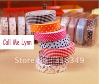 free shipping cute fabric tape single-sided adhesive DIY decoration