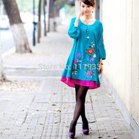Free Shipping* Lemon vintage legging socks 2012 spring women's national trend chinese style