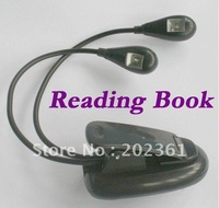 wholesales 2 Dual Arm LED Reading Book Music Stand Light Lamp for  Kindle 3 3G wifi