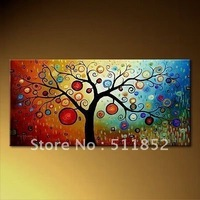 Hot Sell Print Art Painting Huge Tree On Canvas Never Fade .. @T1