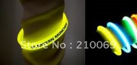 "8"" triple wrist glow stick ( light stick )bracelet,triple-color wrist strap"