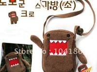 Wholesale 40PCS Popular Japan DOMO KUN Plush Children Kid's Satchel School BAG Pack Shoulder BAG, Satchel BAG, Outdoor BAG Pack