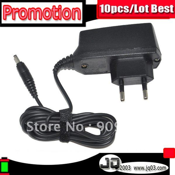 Genuine AC-2E EU Big Pin Plug Charger For Nokia 7210 1100 1260 6600 6300 6800 Cargador Chargeur Disco Pengisi (Free Shipment)(China (Mainland))