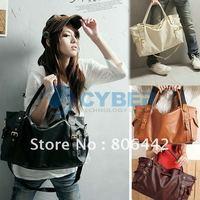 New Fashion Korean Style Lady handbags Women bags fashion 2012 PU Leather Shoulder tote Bag  5269