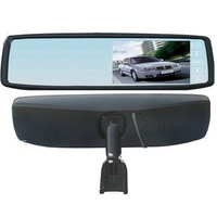 Free shipping Special Rear View Mirror  High definition 4.3 inch car  mirror monitor with TFT LCD screen