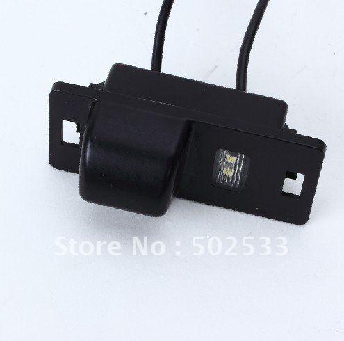 wholesale auto shutter Waterproof Car rearview camera reversing camera back up camera for audi A4L/TT/A5(China (Mainland))