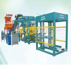 Full Automatic Cement Brick Machine (NYQT8-15)(China (Mainland))
