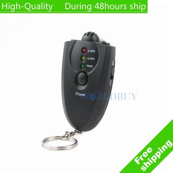 High Quality LED Alcohol Breath Tester Breathalyzer Analyzer New Free Shipping UPS DHL HKPAM CPAM(China (Mainland))