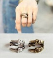 Wholesale Antiqued Retro Brass 3Talon DRAGON Claw WrapAround Finger Ring!!!