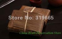 Wholesale pu-erh tea Yun nan jujube aroma old puer tea brick 250g puer ripe tea +Secret Gift+free shipping
