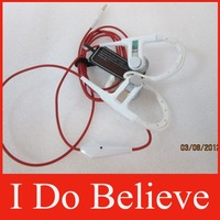 Free Shipping white/black/red PB ear hook headphone Power beaters headphone with control talk