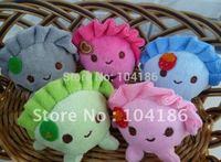 10PCS Plush Stuffed TOY Size 6*6CM Dumpling Figure DOLL Phone Strap Pendant & Keychain TOY ; Bouquet TOY Wedding Gift TOY