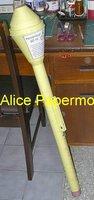 [Alice papermodel]1:1 WWII sms Anti tank Panzerfaust RocketLauncher Assault Rifle weapon toy gun models