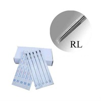 Quality 50Pcs Pack 11 Round Liner Tight Tattoo Needles