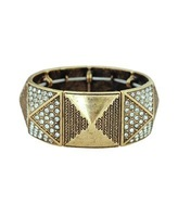 2013 fashion Tribal Pattern Pyramid Bracelet