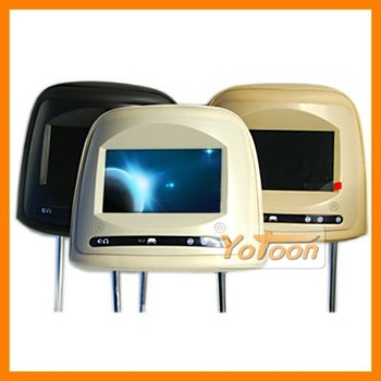 "YOTOON New 7 ""Car Headrest Monitor with 800*480 HD LCD Screen"