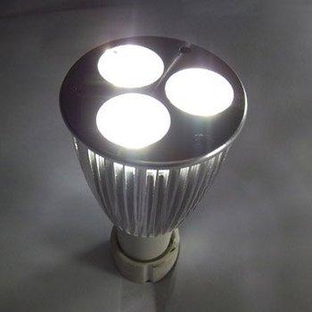50pcs led lamp GU10 9W 3x3W LED spotlight led energy saving light Cool white/warm white