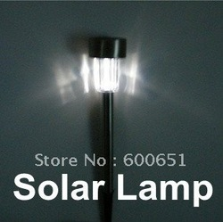 solar lamp light Lawn Light,Solar lighting, 2Pcs/Lot solar garden lamp +free shipping HG981W Dropshipping(China (Mainland))