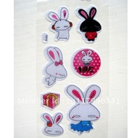 Rabbits Chidren Cartoon Stickers School classroom things for Kids for Mobile Gift
