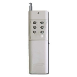 Fixed code 6 Buttons 1000M Wireless Remote Control 10 PCS/Lot(China (Mainland))