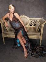 Free Shipping High Quality Deep V Sexy Halter Evening Dress,ladies' evening dress