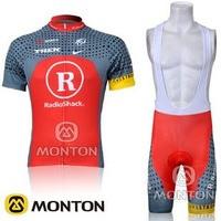 HOT!2012 RadioShack  Team Cycling clothing /Cycling wear/ Cycling short sleeve jersey+ Bib Shorts Sets Suite-2DFree Shipping
