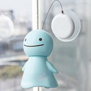 Shake head Smile cute solar sunny Doll  Free Shipping 6pcs/lot
