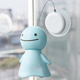 Shake head Smile cute solar sunny Doll  Free Shipping 6pcs/lot