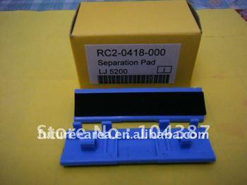 RC2-0418-000,Separation pad for hplj 5200 laserjet printer,grade A