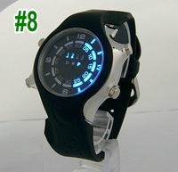 wholesale cheap Fashion Silicone LED Watch students whatches wrist watch  sport watch led digital watch electronic watch hot