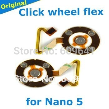 100% original clickwheel click wheel flex cable for iPod Nano 5, Chinese supplier(China (Mainland))