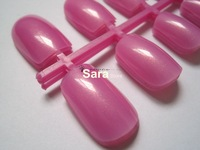 Free shipping-wholesales,Lilac color Fashionable Full Cover False Finger Tips/false tips100set/lot total1200pcs #06