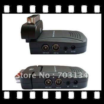 Dropshipping SCART DVB-T Receiver Mini Scart TV BOX