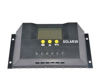 Free shipping!!!30 amps Solar Charge Controller with LCD display 30A solar regulator