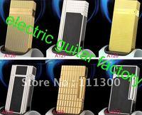 Wholesale - 10Pcs/lot Designer Brand Lighter Men`s Lighters With Box,
