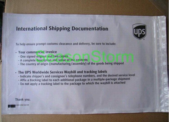 [CPA Free Shipping] Wholesale UPS Standard Express Pressure Sensitive Adhesive Self Seal Bag 100pcs/lot (SD-257)(China (Mainland))