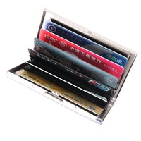 5pcs/Lot  GENUINE LEAHTER men&women's  Fashion Card & ID Holders name card holder  WALLET  CCBB9