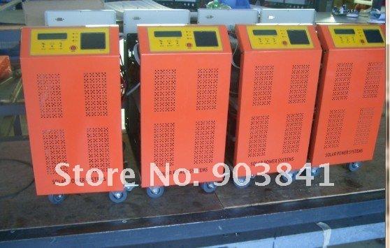 48V,96V,5000w inverter+80A controller hybrid,solar inverter with controller,LCD display,controller by CPU,for solar system(China (Mainland))