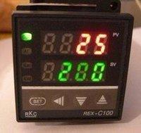 2PCS/LOT 100% New Dual Digital F/C PID Temperature Controller REX-C100