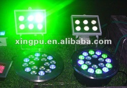 2012 Zhongshan Xingpu! DC24v,18W LED Undergroud Lighting,RGB with DMX512 control,Good Quality(China (Mainland))