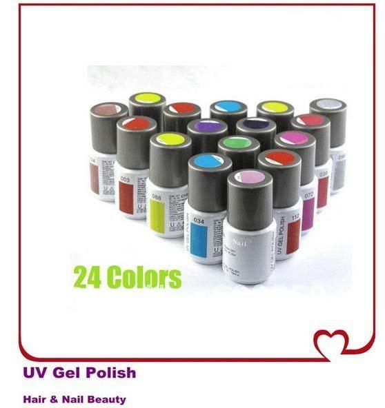 SHIPPING + 15ml shellac solid nail polish UV Jelly Gel nail polish